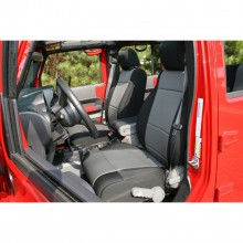 Rugged Ridge Seat Cover - Black and Gray